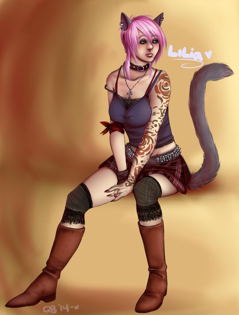 Punk!Lilia by NejiKitty