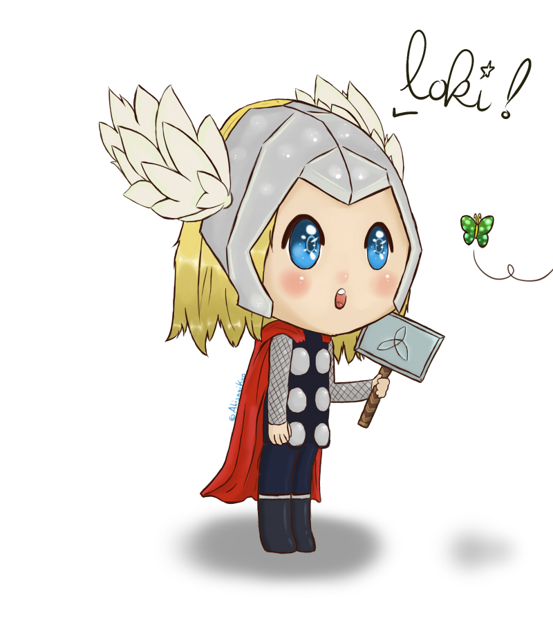 Cute Thor by AkisagiKun on DeviantArt