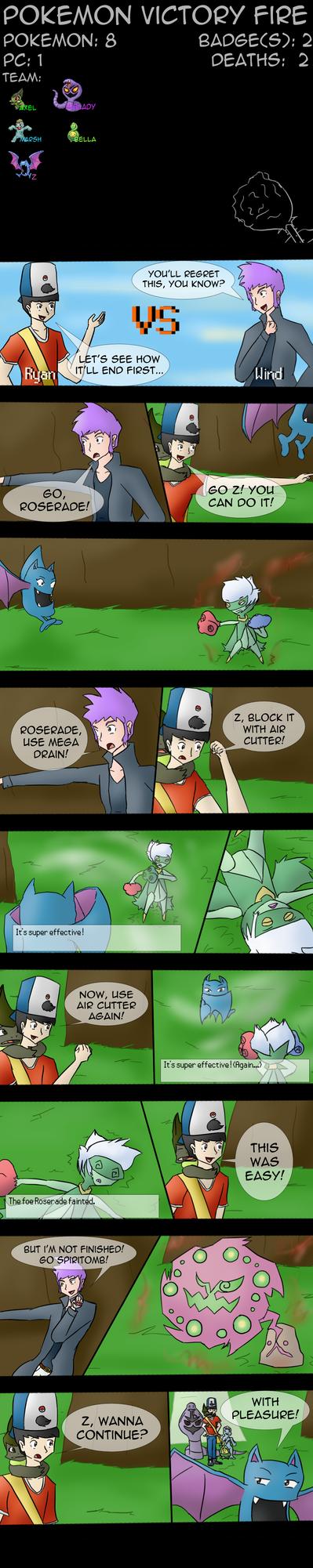 Ryan's Victory Fire Nuzlocke Part 57 by Jiolyemaster