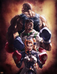 Ready to Rumble - CAPCOM Fighting Tribute