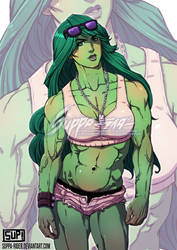 She-hulk commission by suppa-rider