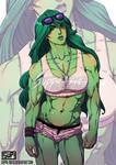 She-hulk commission