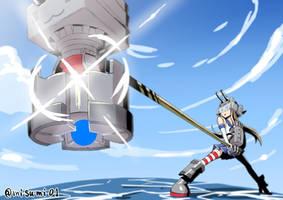 alloy shimakaze by misumi-illustration