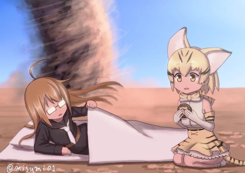 Lethargic friends by misumi-illustration
