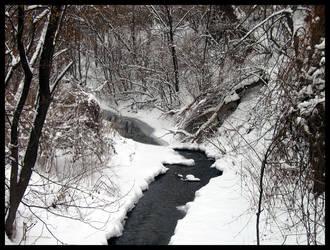 Snowy river by BlackSnoopy