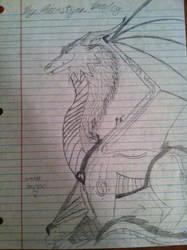 Water dragon by Blackwolf996