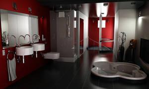 Bathroom by Alienmatos
