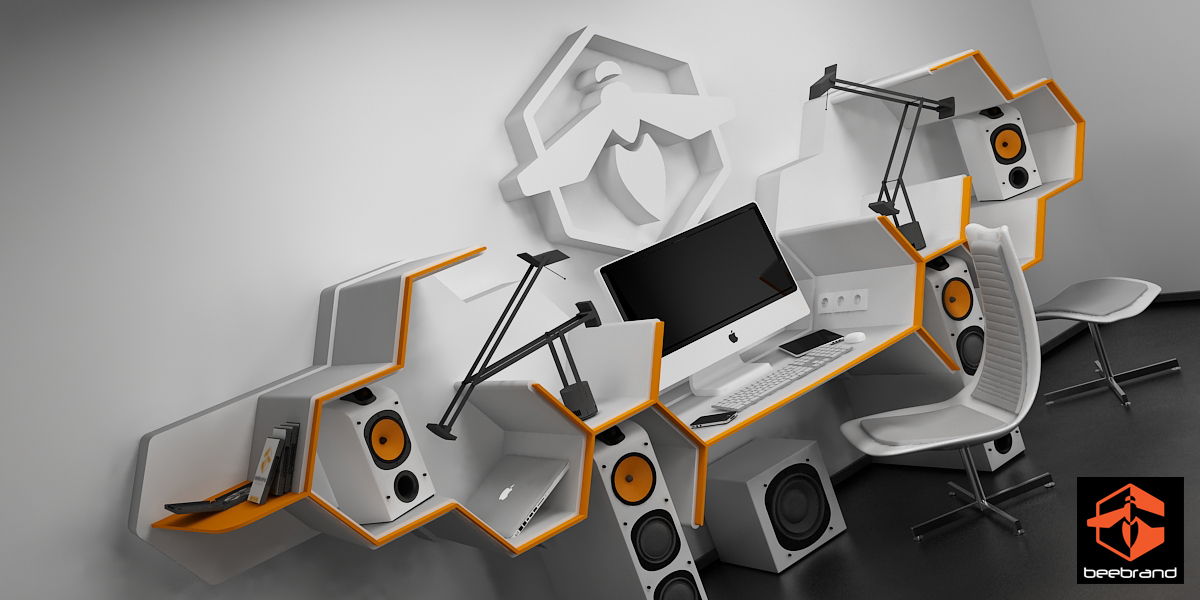 Beebrand Office by Alienmatos
