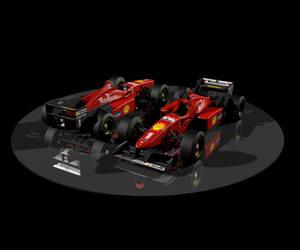 Ferrari f1 1996 by Alienmatos