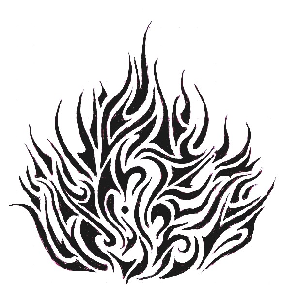 fire drawings design - photo #19