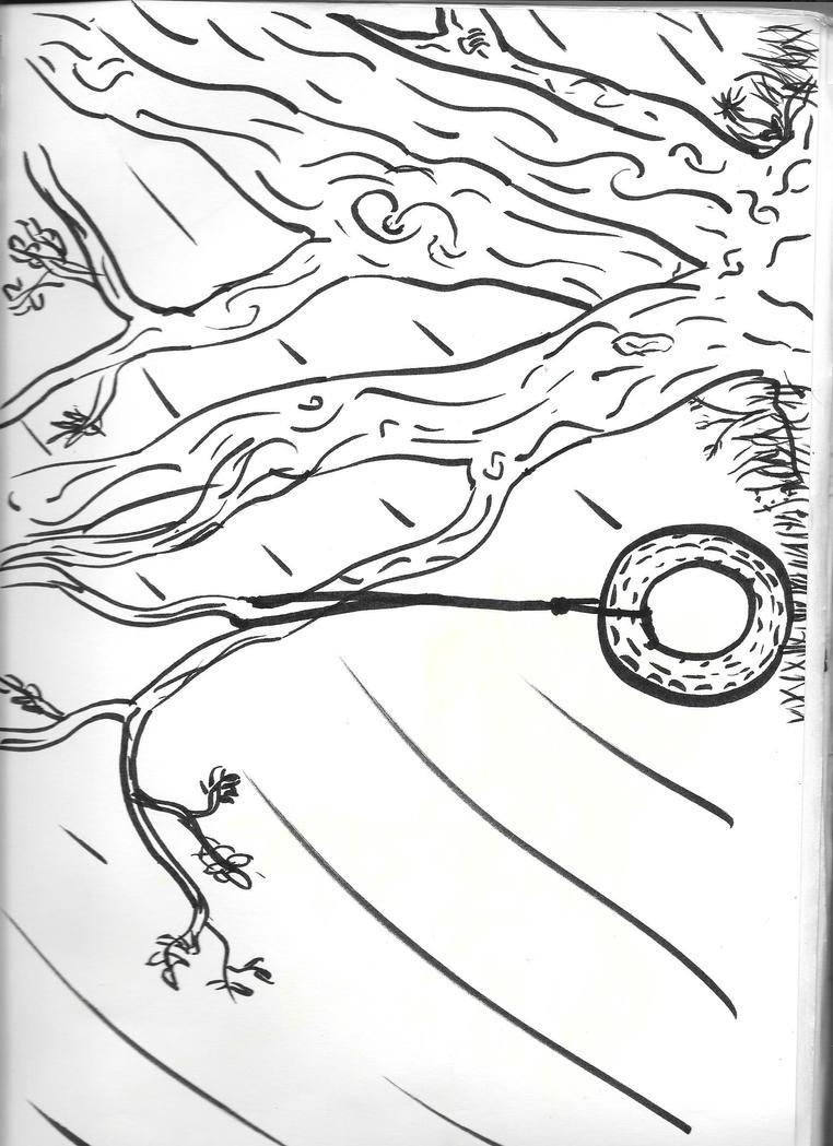 Lazy Day Tree by Sydnut
