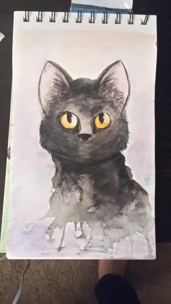 Black Cat by Sydnut