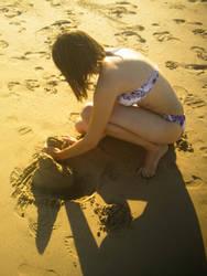 sandcastle by gwystal