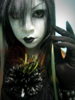 visual kei make up by miafaye