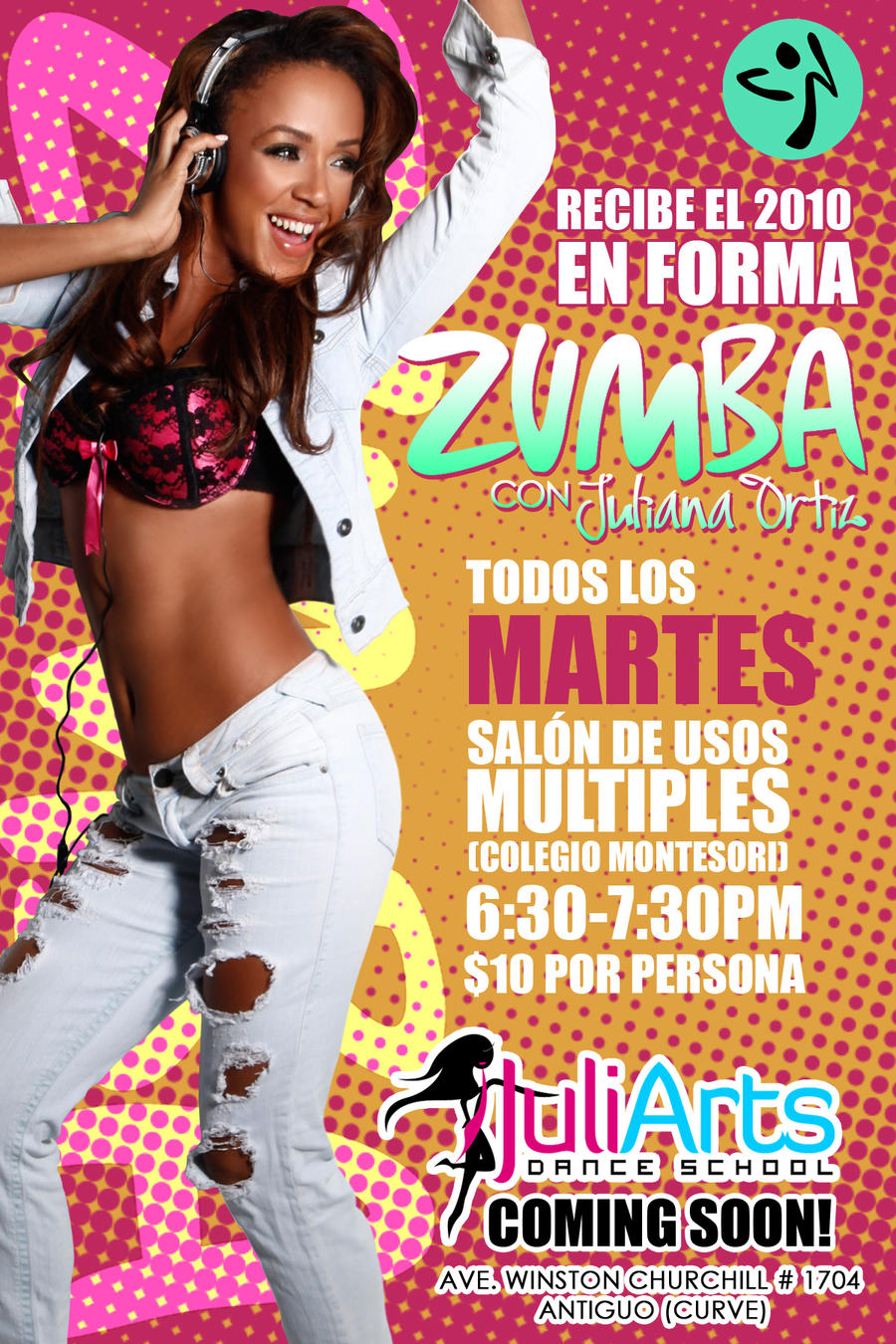 Zumba poster design - Zumba Posters And Banners
