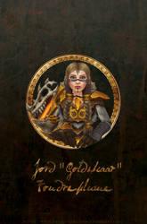 Avatar of my dwarf, Jord Goldskaar - Updated by Stenhjarta-MA
