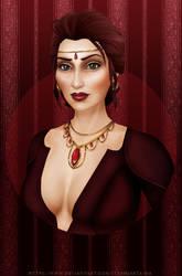 Commission - Lady Harwood by Stenhjarta-MA