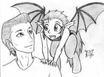 Bat Satyr and Father
