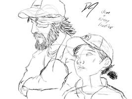 Clem and Kenny Tablet Practice