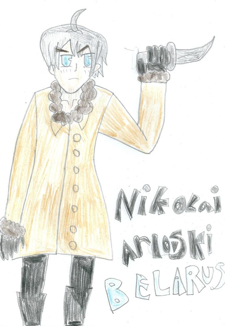 Nikolai by Belarus-Hetalia