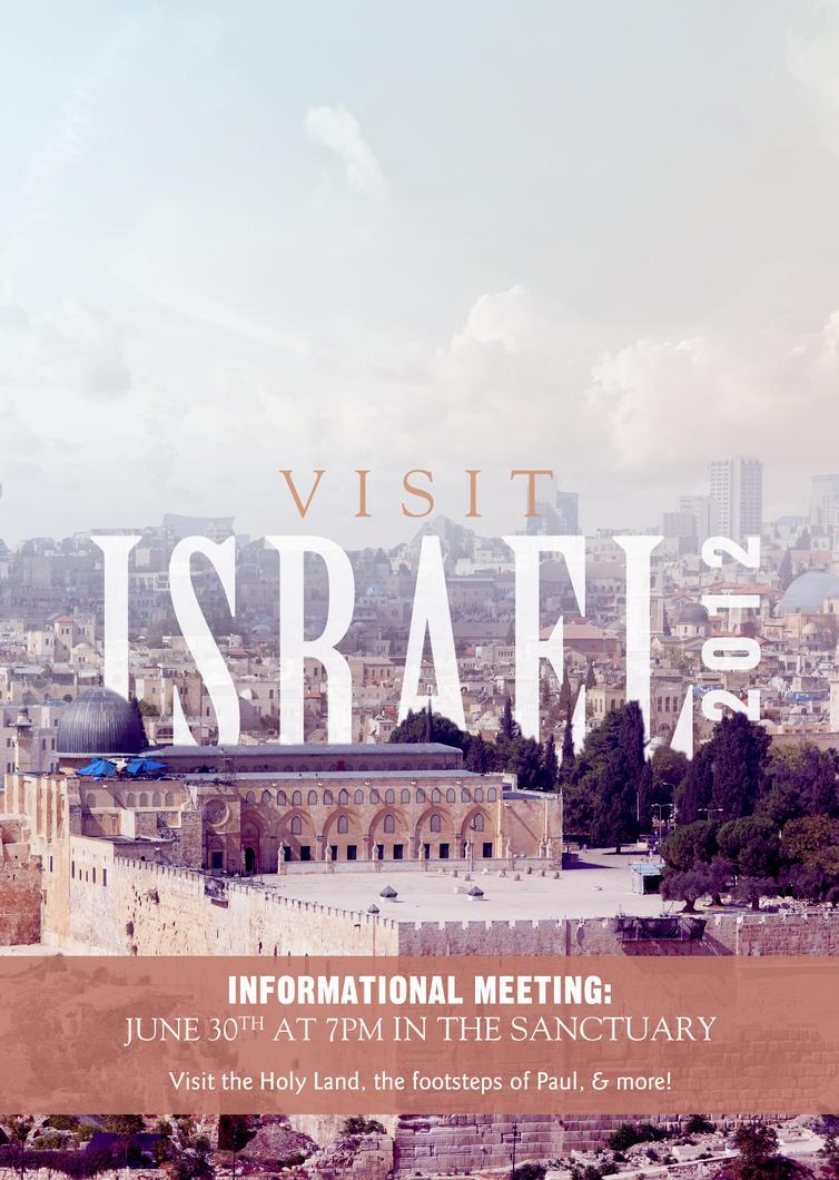 Visit Israel by Emberblue