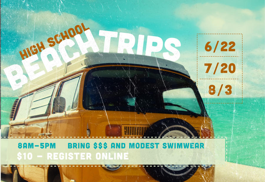 Beach Trips Flyer By Emberblue