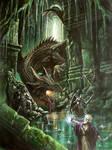 Black dragon by Nordheimer