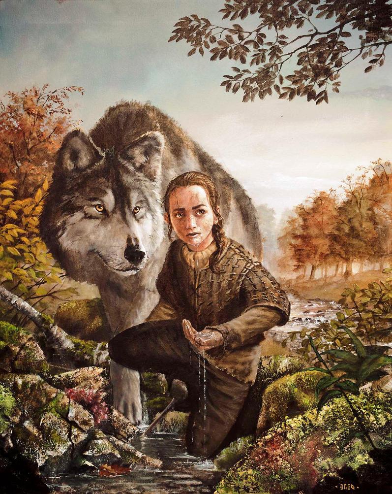 Arya Stark by Nordheimer