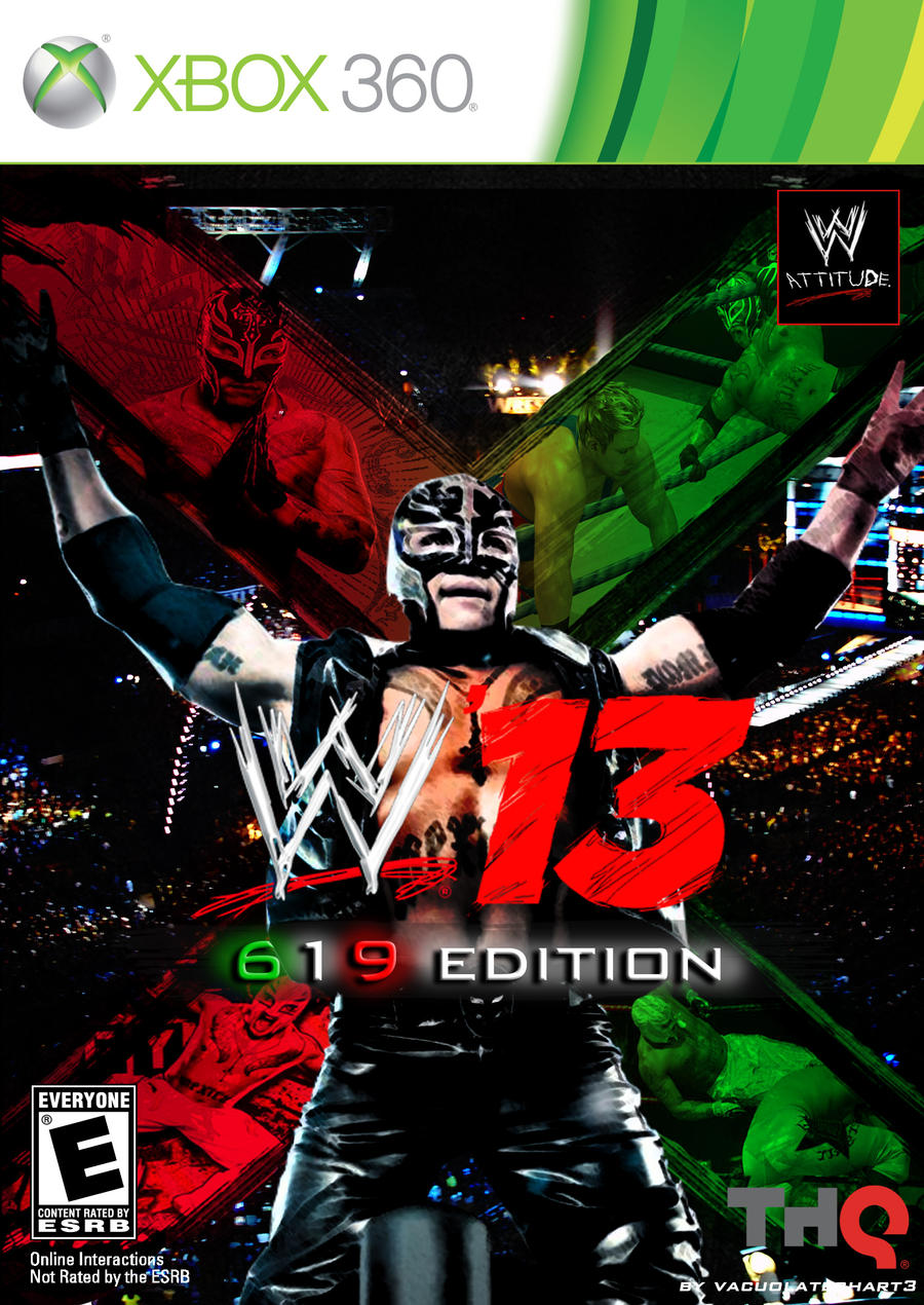 Wwe 13 619 edition by vacuolatechart3 on deviantart - Wwe 619 images ...