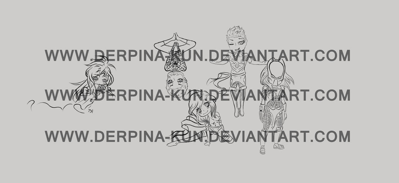 Preview of my current work by Derpina-kun