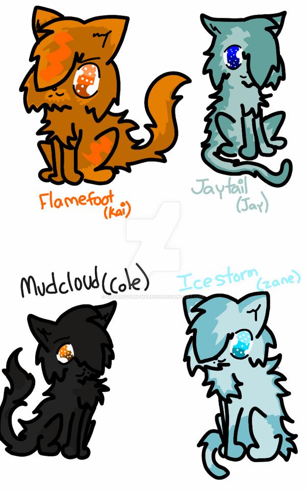 Silverstorm Warrior Cats