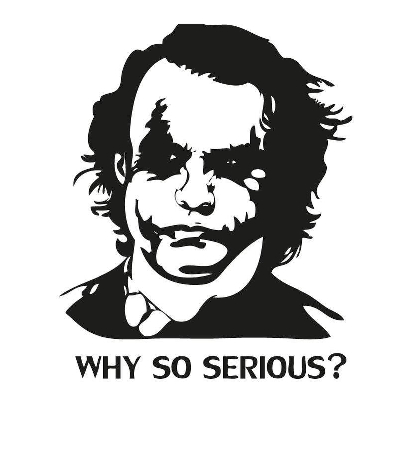 why so serious stencil wwwimgkidcom the image kid