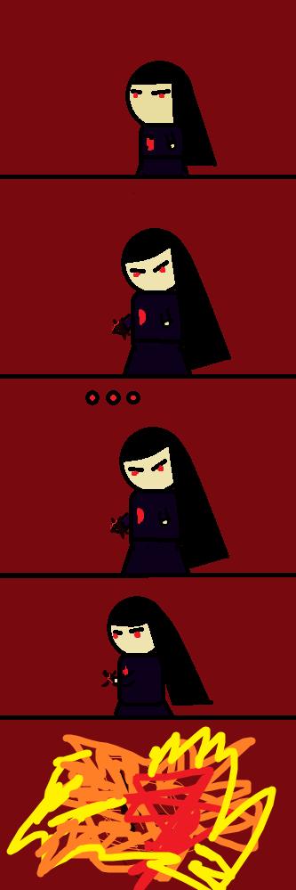 Hellgirl comic by ikiuafy