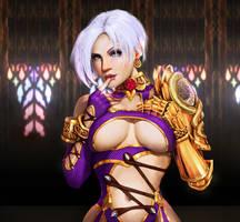 Ivy Soul Calibur Fanart by Antuniey