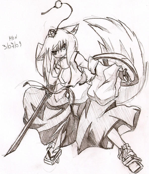 fox warriorFox Girl Warrior