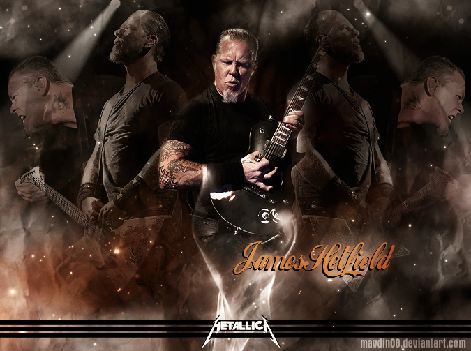 James Hetfield by maydin08