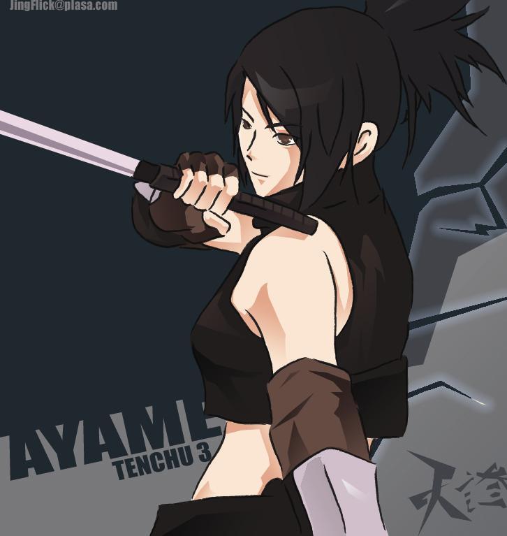 Tenchu Ayame By Jingflick On Deviantart