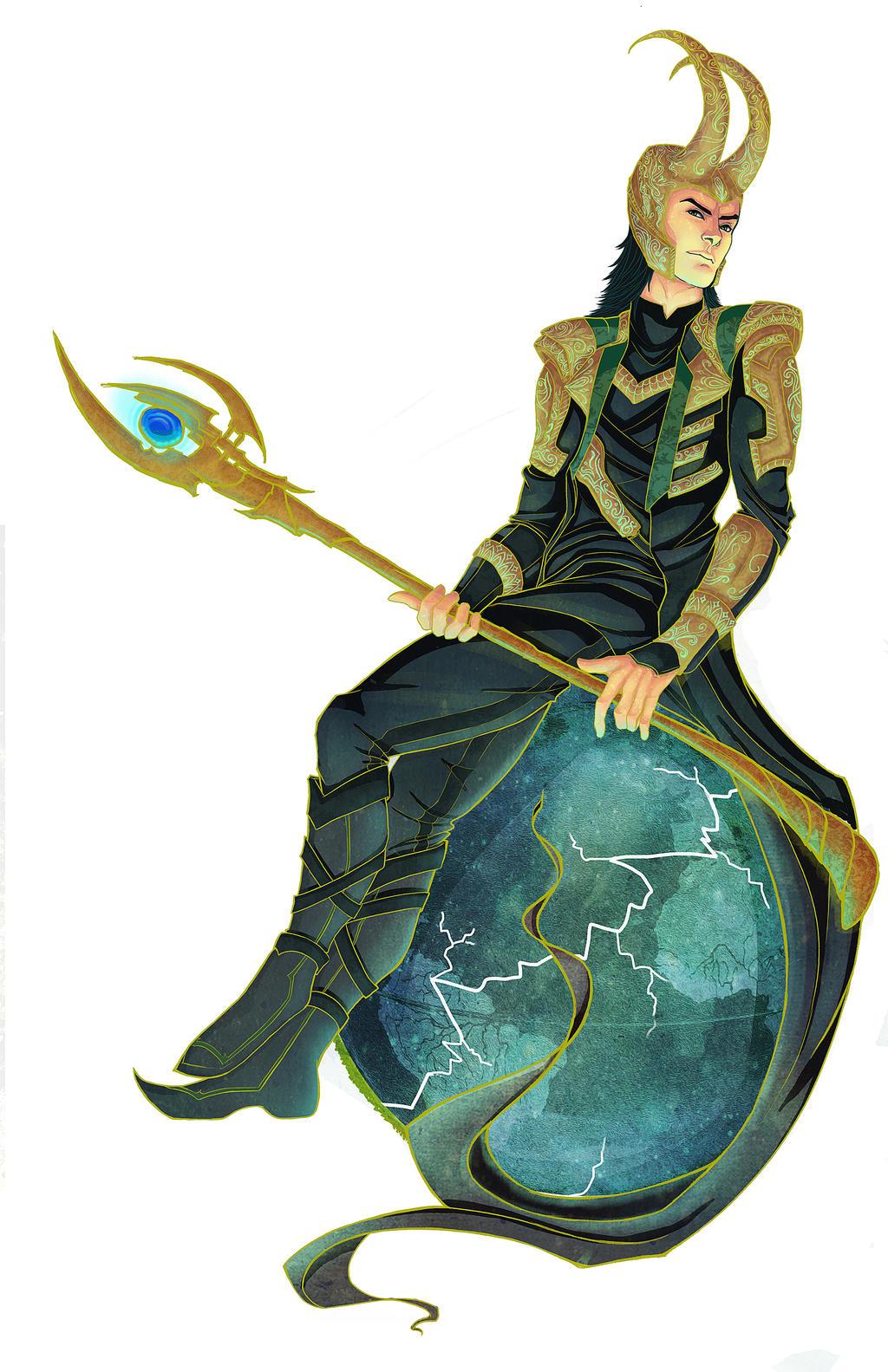 Loki by clarkegilmore