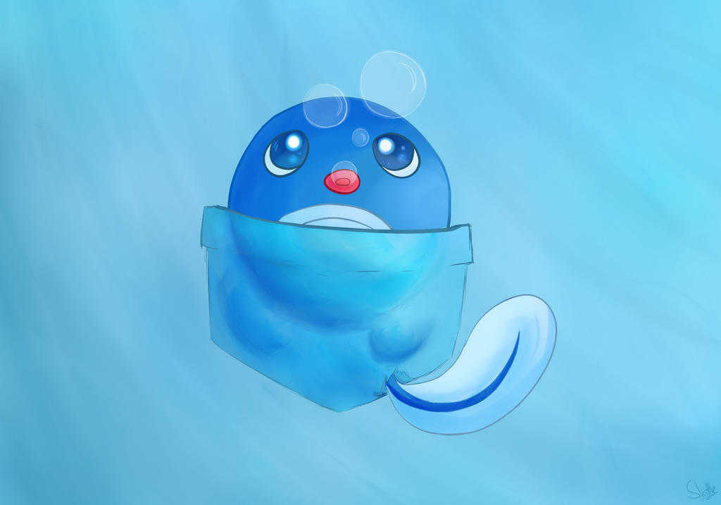Poliwag by SkittleLittle
