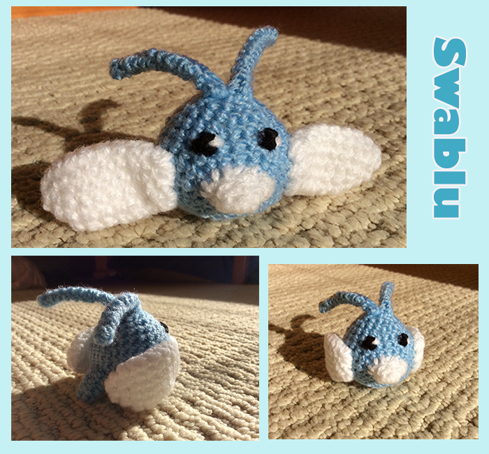 Swablu crochet by SkittleLittle