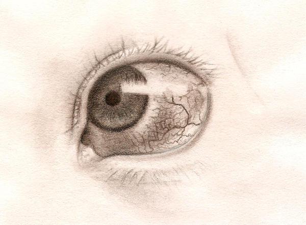 Sketch: Evil eye by kiona-sko on DeviantArt