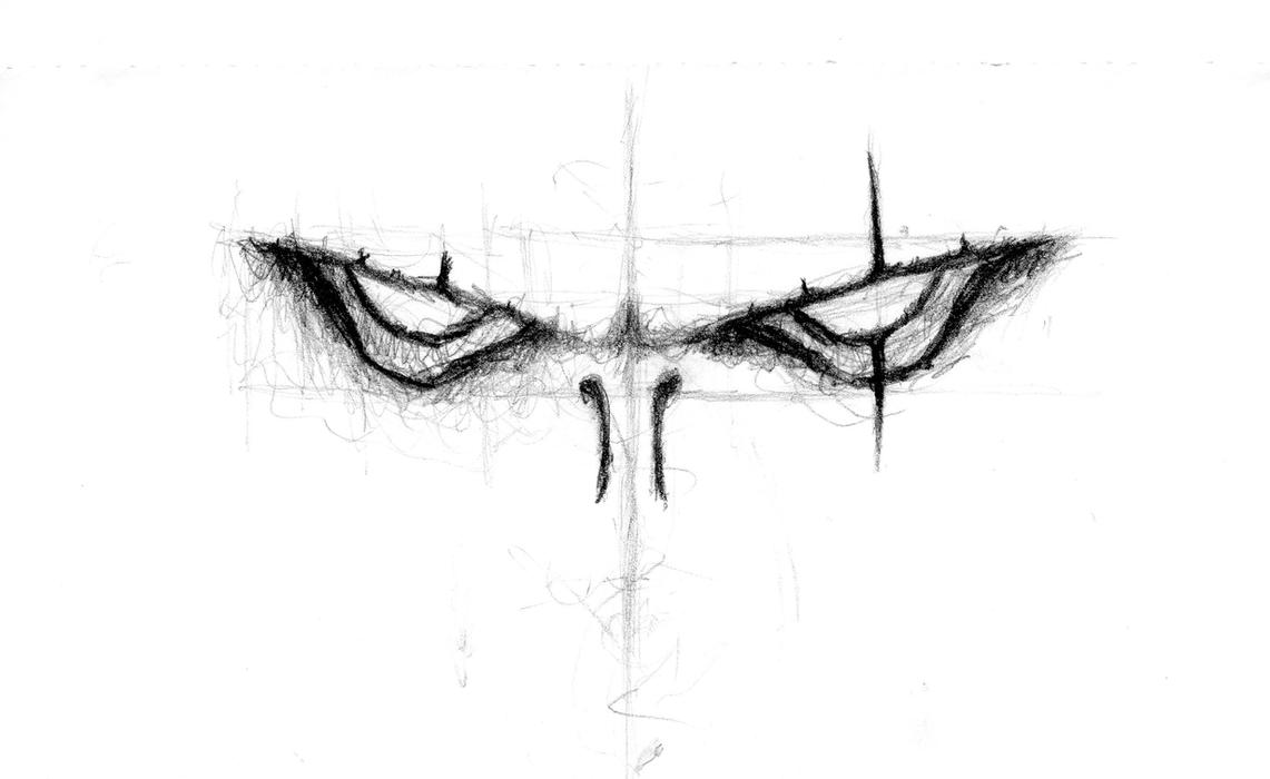 Sketch of an evil eye by ProHigh on DeviantArt