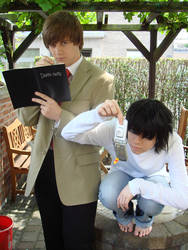 Death Note: L and L by hana-no-ren