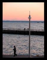 People at the Lake by Kieke-boe
