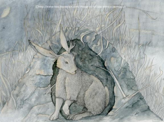 Jackalope by Kieke-boe
