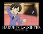 When Haruhi Laughs