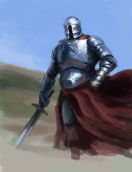Knight study by Sigarth