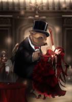 KC: Beary Dance by ForbiddenImmortality