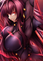 Fate/GO: Scathach by ForbiddenImmortality