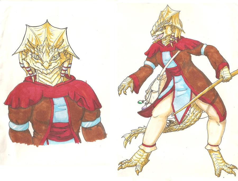 Woarisepa Dragonborn by goomzz